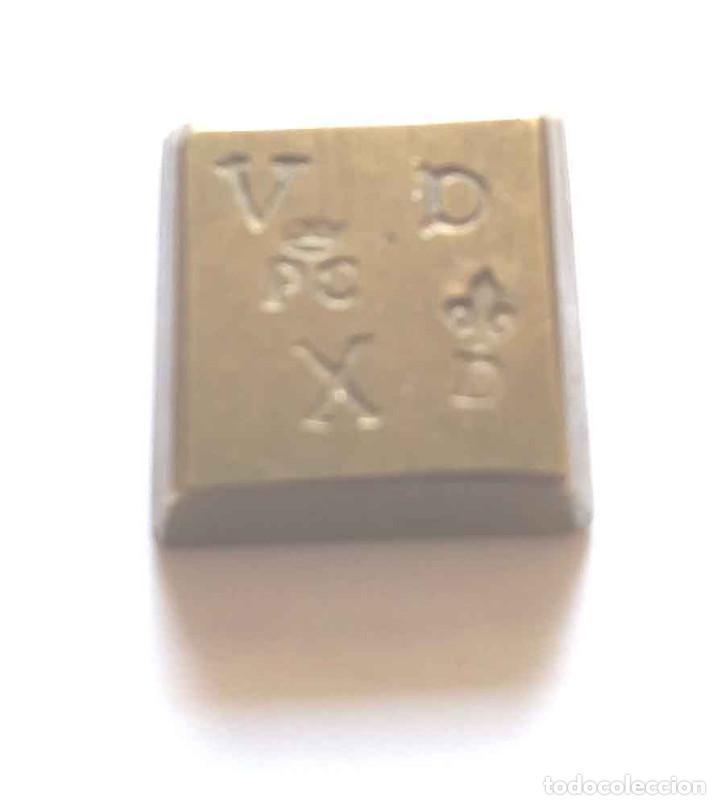 PESA PONDERAL REYES CATÓLICOS (Antigüedades - Técnicas - Medidas de Peso - Ponderales Antiguos)