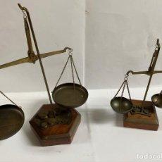 Antigüedades: 2 VASCULAS ANTIGUAS DE INDIA. Lote 195179725