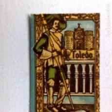 Antigüedades: FUNDA HOJA DE AFEITAR ANTIGUA,TOLEDO TOPACIO DE J.VOLLMER.. Lote 195179943