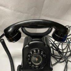 Teléfonos: TELEFONO SOBREMESA BAQUELITA FUNCIONANDO. Lote 195181090