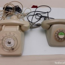 Antigüedades: LOTE DE DOS TELÉFONOS DE DIAL . Lote 195195708