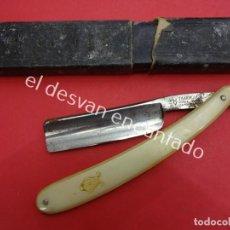Antigüedades: ANTIGUA NAVAJA DE AFEITAR FILARMONICA. VER FOTOS. LO QUE SE VE EN IMÁGENES. Lote 195213123