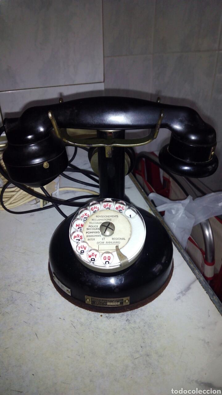 Teléfonos: Antiguo teléfono, Ericsson, Doble Auricular. - Foto 2 - 195213601