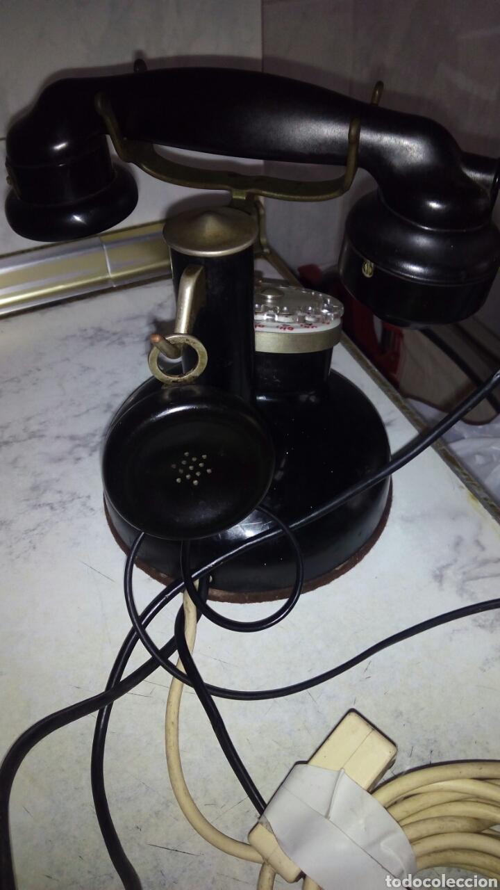 Teléfonos: Antiguo teléfono, Ericsson, Doble Auricular. - Foto 3 - 195213601