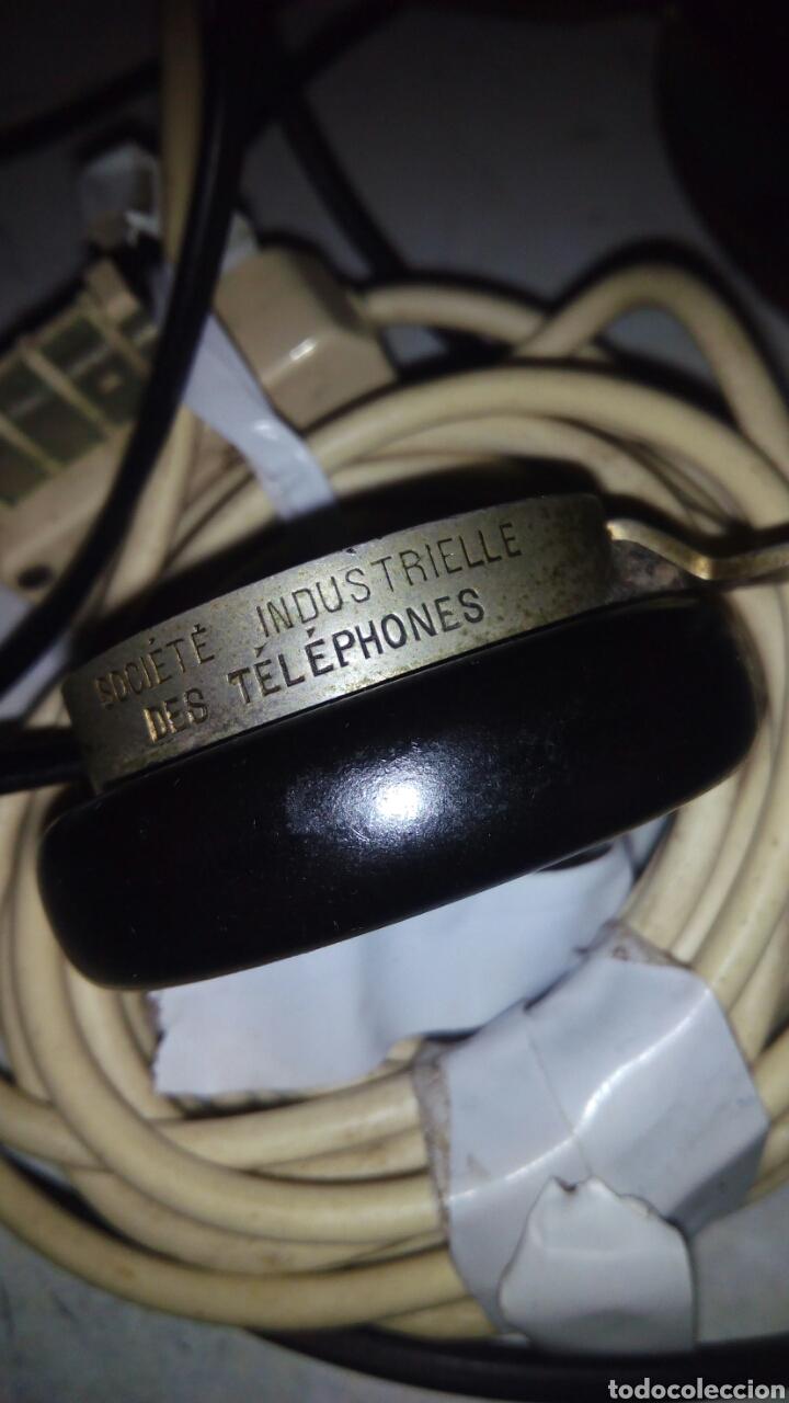 Teléfonos: Antiguo teléfono, Ericsson, Doble Auricular. - Foto 8 - 195213601