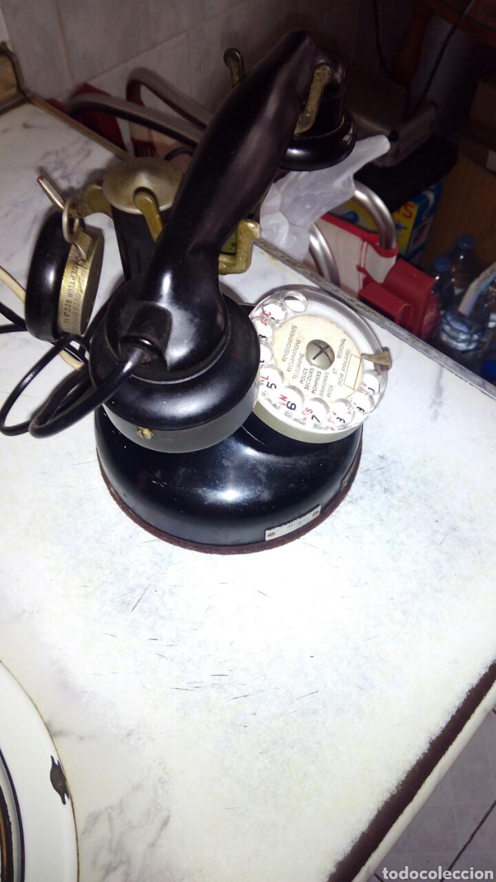Teléfonos: Antiguo teléfono, Ericsson, Doble Auricular. - Foto 17 - 195213601