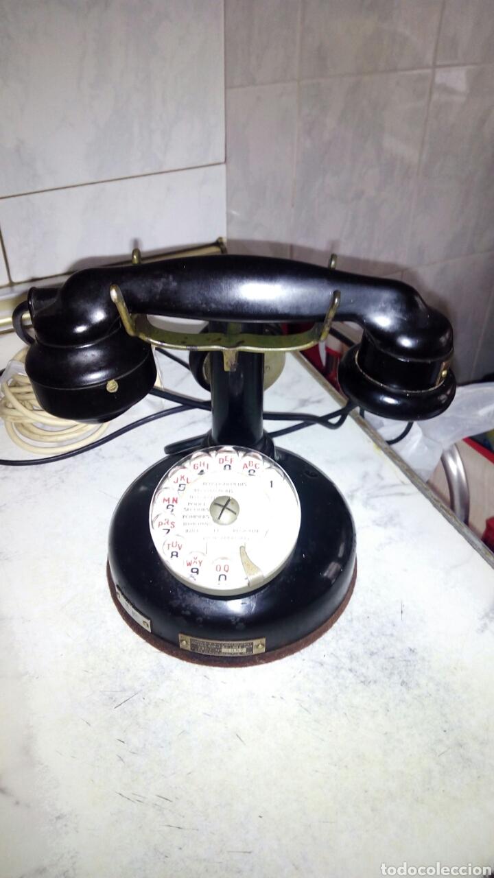 Teléfonos: Antiguo teléfono, Ericsson, Doble Auricular. - Foto 18 - 195213601