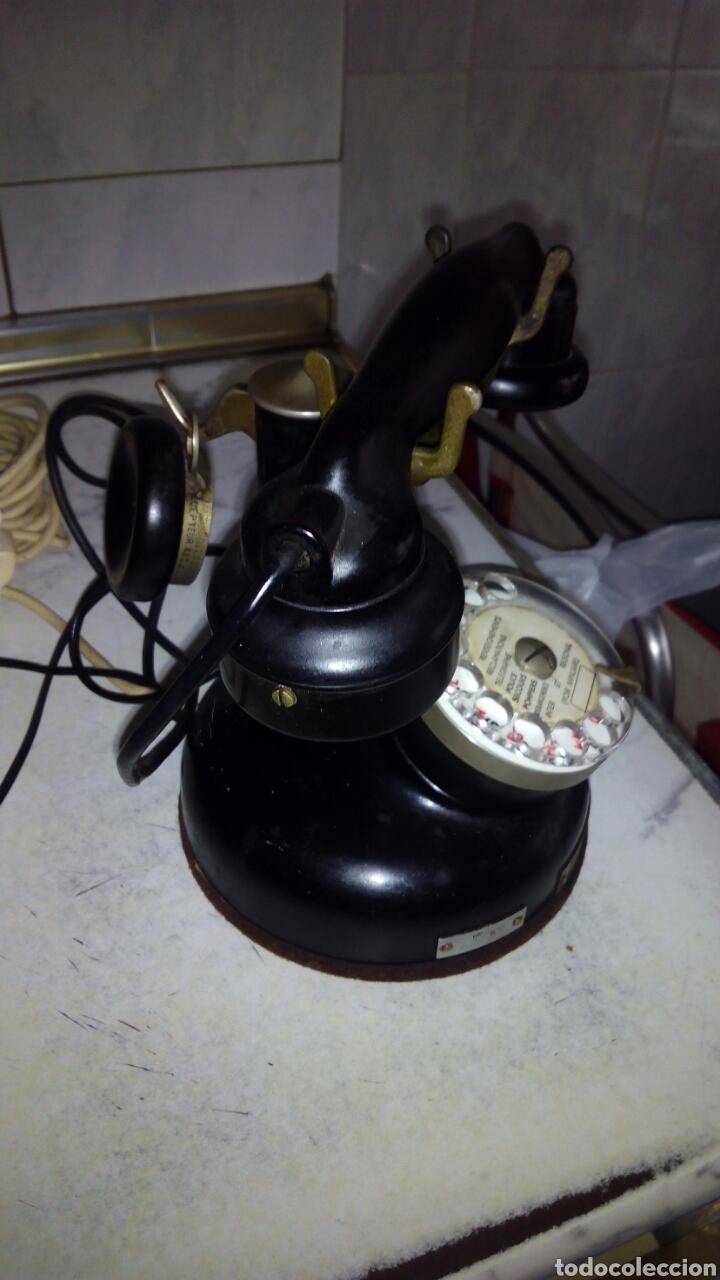 ANTIGUO TELÉFONO, ERICSSON, DOBLE AURICULAR. (Antigüedades - Técnicas - Teléfonos Antiguos)