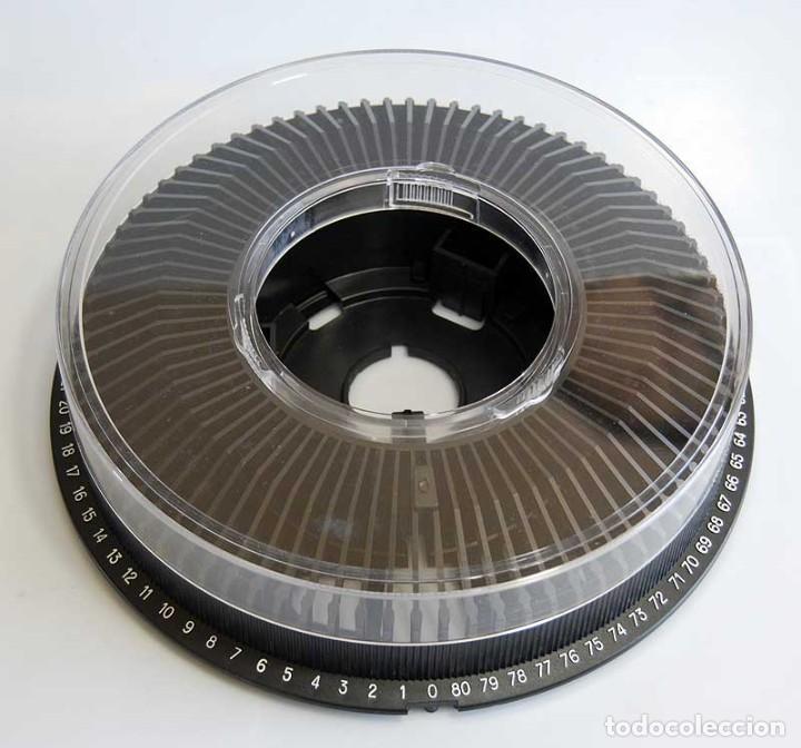 Antigüedades: Carrusel cargador circular para 80 diapositivas + 71 diapositivas de tema dentista - Foto 3 - 195216150