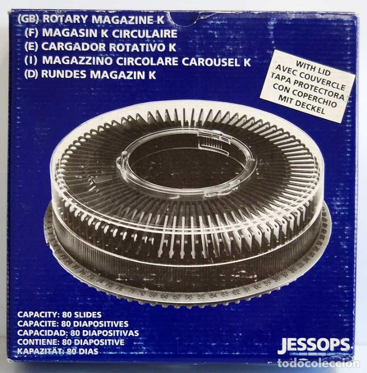CARRUSEL CARGADOR CIRCULAR PARA 80 DIAPOSITIVAS + 53 DIAPOSITIVAS DE TEMA DENTISTA (Antigüedades - Técnicas - Aparatos de Cine Antiguo - Proyectores Antiguos)