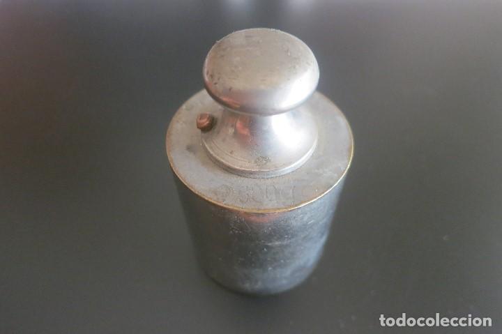 Antigüedades: pesa de 500 gramos de acero - Foto 2 - 195251270
