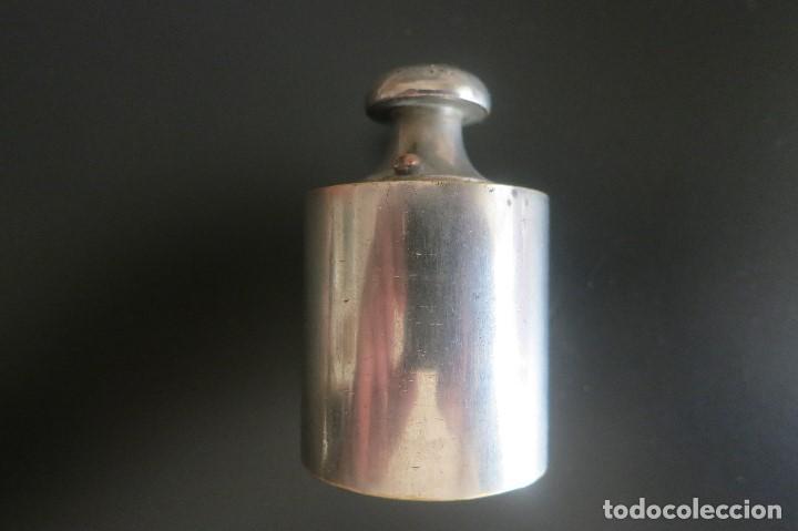 Antigüedades: pesa de 500 gramos de acero - Foto 3 - 195251270