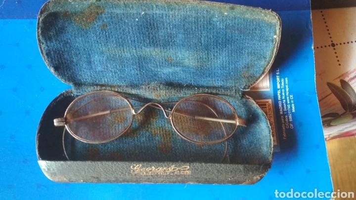 GAFAS SIGLO XIX GEORGES. (Antigüedades - Técnicas - Instrumentos Ópticos - Gafas Antiguas)