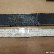 Antigüedades: REGLA DE CALCULO FABER CASTELL 1/54 CON FUNDA ORIGINAL.. Lote 195268266