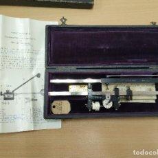 Antigüedades: PLANÍMETRO - COMPENSATING POLAR PLANIMETER DE 1917. Lote 195274868