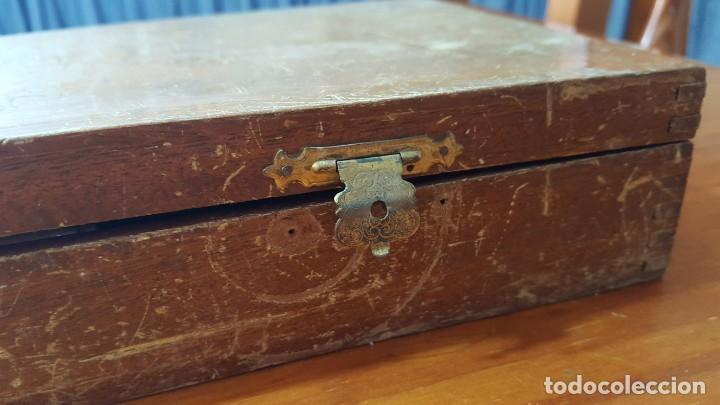 Antigüedades: ANTIGUO MATERIAL MÉDICO VETERINARIO PARA INSEMINACIÓN EN SU CAJA. MARCA HERRERA. BUEN ESTADO. - Foto 36 - 195294996
