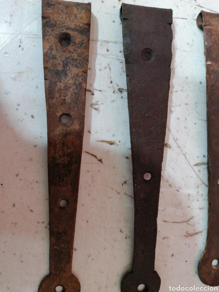 Antigüedades: Bisagras de puertas antigua - Foto 2 - 195296508