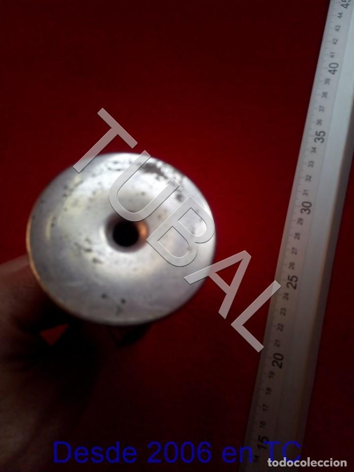 Antigüedades: TUBAL ANTIGUO ESTETOSCOPIO PINARD ALUMINIO OBSTETRICIA - Foto 4 - 195317971