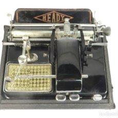 Antigüedades: RARA HEADY PLEGABLE AÑO 1924 + ESTUCHE TYPEWRITER SCHREIBMASCHINE. Lote 195318835