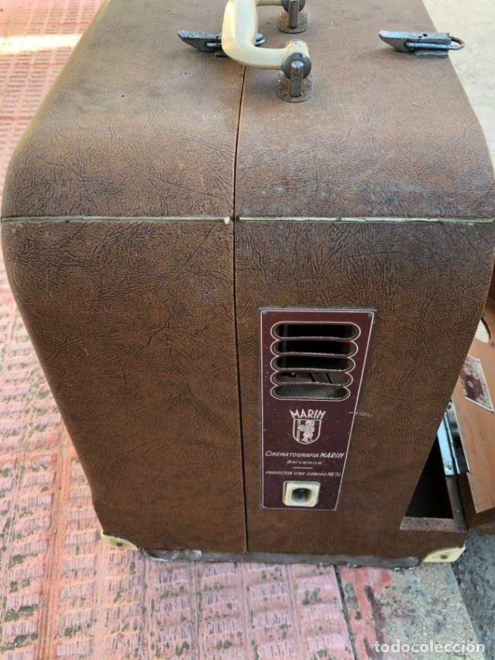 Antigüedades: ANTIGUO PROYECTOR DE CINE MARÍN 16 MM - Foto 4 - 195321533