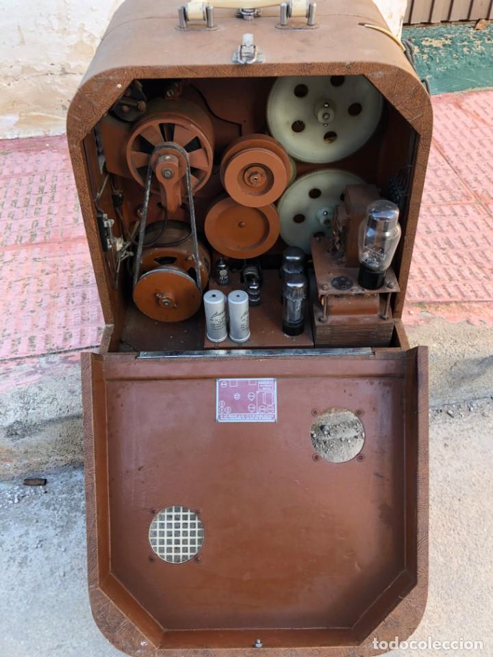 Antigüedades: ANTIGUO PROYECTOR DE CINE MARÍN 16 MM - Foto 8 - 195321533
