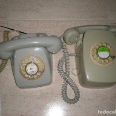 Teléfonos: TELÉFONOS MUY ANTIGUOS,LOTE,DE PARED Y DE MESA,BUEN ESTADO.. Lote 195325382