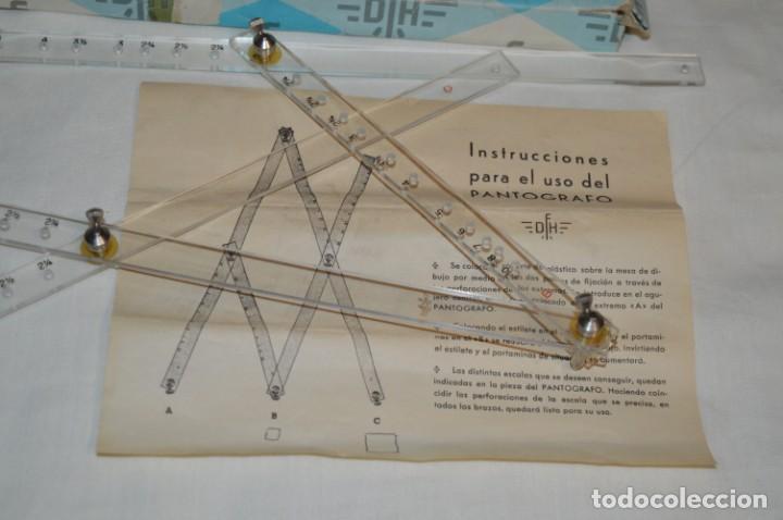 Antigüedades: Pantógrafo DFH - ANTIGUO / VINTAGE - J. Domingo Ferrer - Made In Spain - HAZ OFERTA ¡Mira! - Foto 2 - 195332928