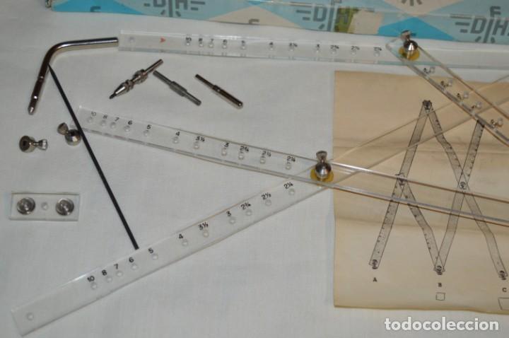 Antigüedades: Pantógrafo DFH - ANTIGUO / VINTAGE - J. Domingo Ferrer - Made In Spain - HAZ OFERTA ¡Mira! - Foto 4 - 195332928