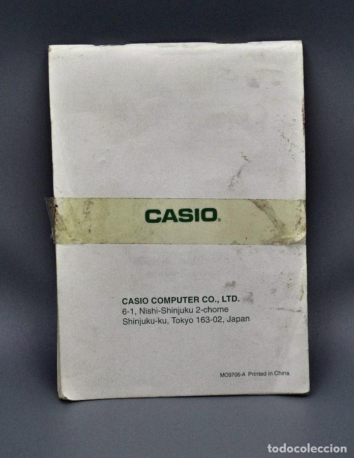 Antigüedades: Manual Casio SF-5590Y Guia del usario - Foto 2 - 195338076