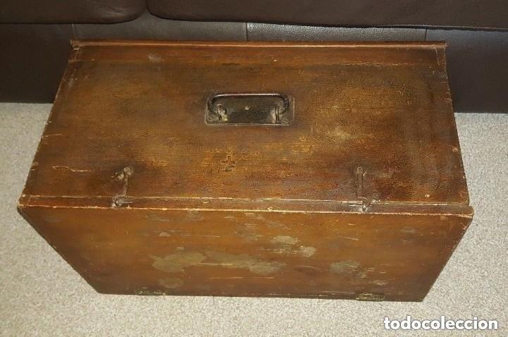 Antigüedades: Máquina de coser Singer antigua y rara modelo 12K Violin.año 1888 - clavel otomano - Foto 2 - 195338201