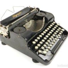 Antigüedades: MAQUINA DE ESCRIBIR OLYMPIA AÑO 1935 TYPEWRITER SCHREIBMASCHINE. Lote 195340945