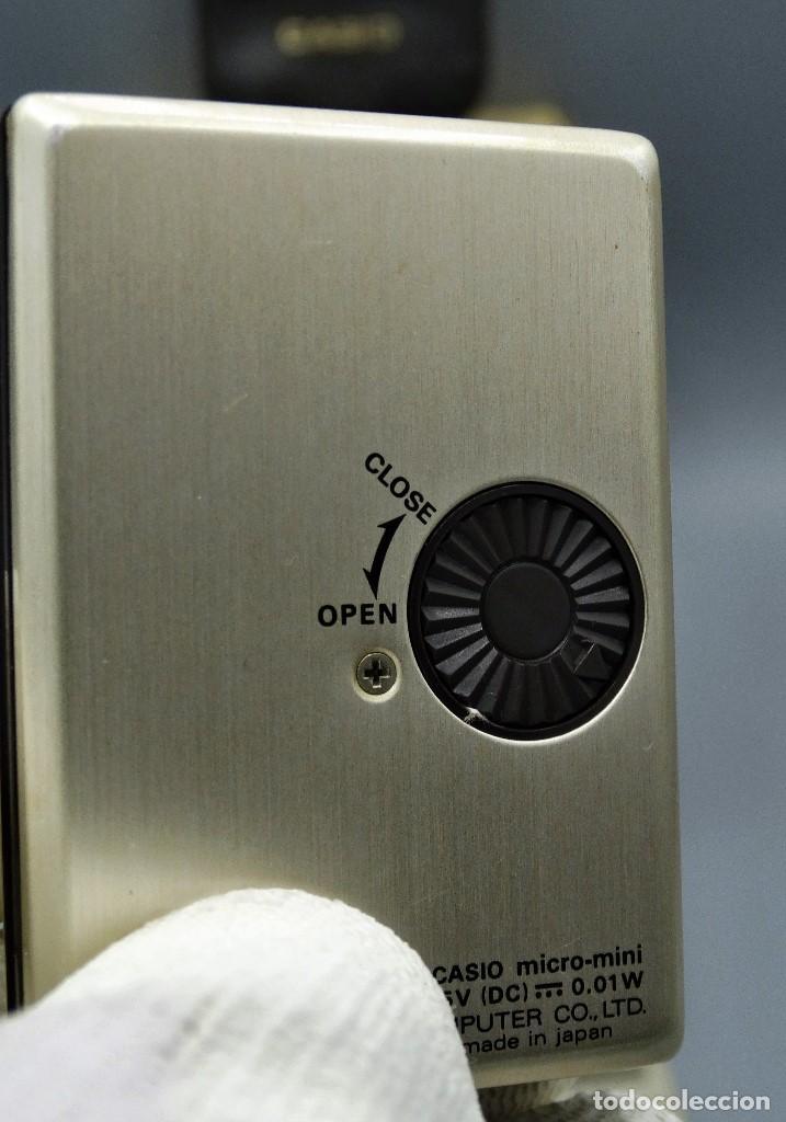 Antigüedades: Calculadora Casio micro-mini M800 año 1976 - Foto 7 - 195341812