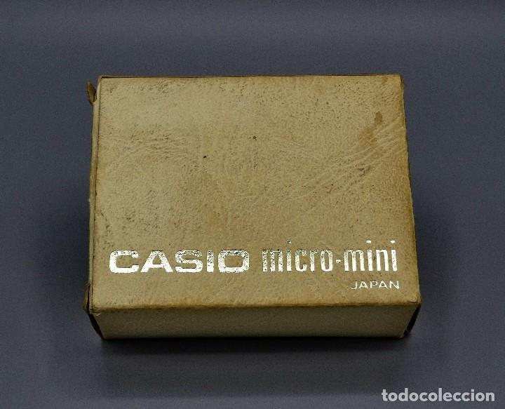 Antigüedades: Calculadora Casio micro-mini M800 año 1976 - Foto 10 - 195341812