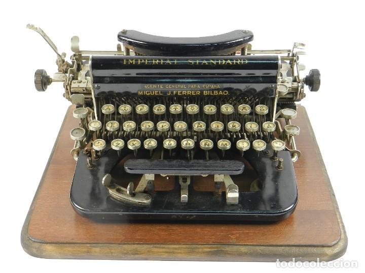 MAQUINA DE ESCRIBIR IMPERIAL D AÑO 1919 TECLADO ESPAÑOL TYPEWRITER (Antigüedades - Técnicas - Máquinas de Escribir Antiguas - Otras)