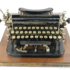 Antigüedades: MAQUINA DE ESCRIBIR IMPERIAL D AÑO 1919 TECLADO ESPAÑOL TYPEWRITER . Lote 195342165