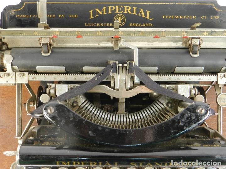Antigüedades: MAQUINA DE ESCRIBIR IMPERIAL D AÑO 1919 TECLADO ESPAÑOL TYPEWRITER - Foto 5 - 195342165