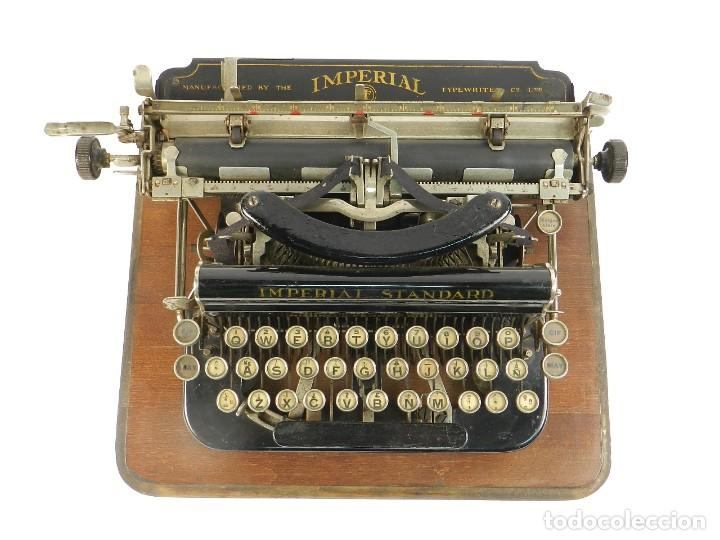 Antigüedades: MAQUINA DE ESCRIBIR IMPERIAL D AÑO 1919 TECLADO ESPAÑOL TYPEWRITER - Foto 6 - 195342165
