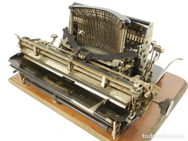 Antigüedades: MAQUINA DE ESCRIBIR IMPERIAL D AÑO 1919 TECLADO ESPAÑOL TYPEWRITER - Foto 10 - 195342165