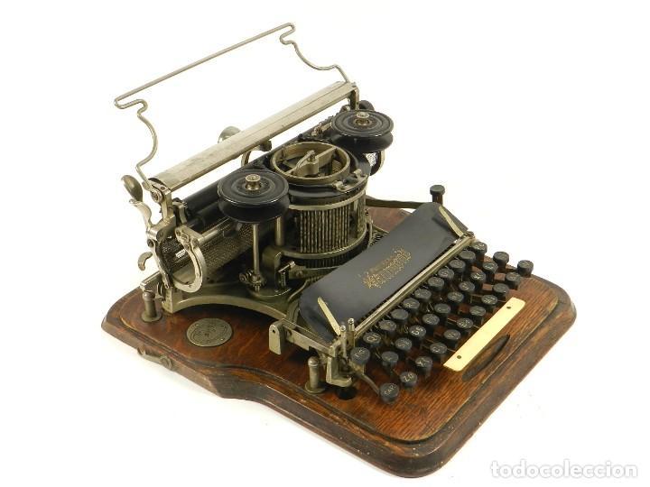 MAQUINA DE ESCRIBIR HAMMOND Nº2 AÑO 1895 TYPEWRITER SCHREIBMASCHINE (Antigüedades - Técnicas - Máquinas de Escribir Antiguas - Otras)