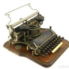 Antigüedades: MAQUINA DE ESCRIBIR HAMMOND Nº2 AÑO 1895 TYPEWRITER SCHREIBMASCHINE. Lote 195342873