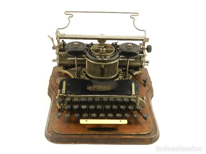 Antigüedades: MAQUINA DE ESCRIBIR HAMMOND Nº2 AÑO 1895 TYPEWRITER SCHREIBMASCHINE - Foto 2 - 195342873