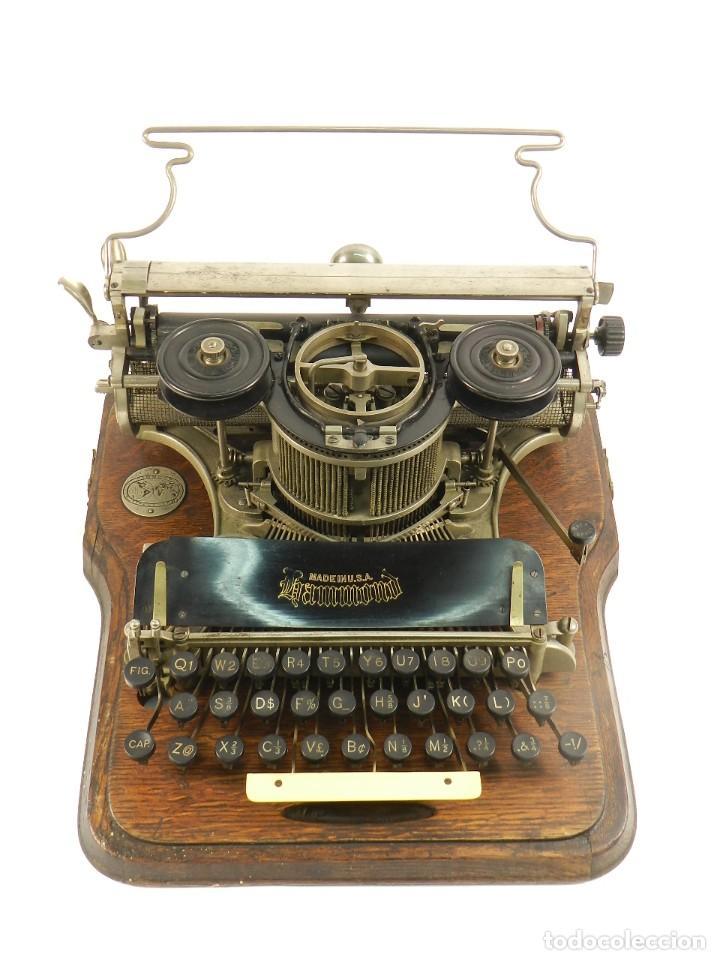 Antigüedades: MAQUINA DE ESCRIBIR HAMMOND Nº2 AÑO 1895 TYPEWRITER SCHREIBMASCHINE - Foto 3 - 195342873