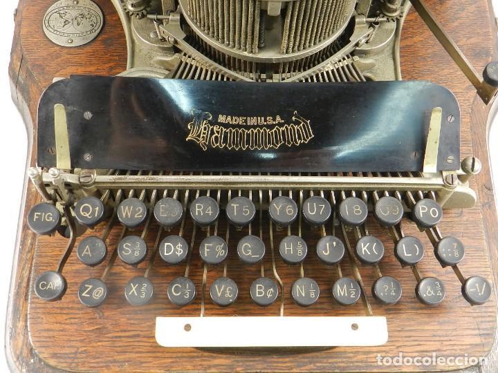 Antigüedades: MAQUINA DE ESCRIBIR HAMMOND Nº2 AÑO 1895 TYPEWRITER SCHREIBMASCHINE - Foto 4 - 195342873