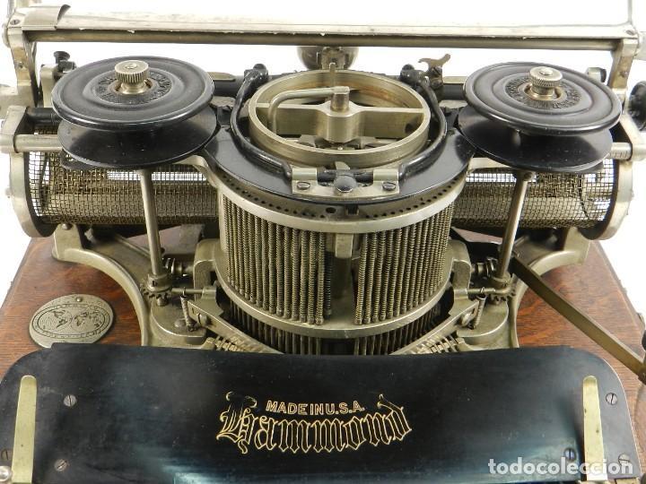 Antigüedades: MAQUINA DE ESCRIBIR HAMMOND Nº2 AÑO 1895 TYPEWRITER SCHREIBMASCHINE - Foto 6 - 195342873