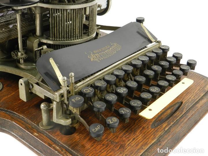 Antigüedades: MAQUINA DE ESCRIBIR HAMMOND Nº2 AÑO 1895 TYPEWRITER SCHREIBMASCHINE - Foto 10 - 195342873