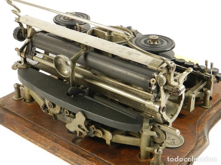 Antigüedades: MAQUINA DE ESCRIBIR HAMMOND Nº2 AÑO 1895 TYPEWRITER SCHREIBMASCHINE - Foto 11 - 195342873