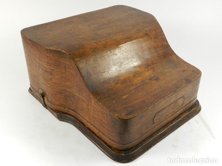Antigüedades: MAQUINA DE ESCRIBIR HAMMOND Nº2 AÑO 1895 TYPEWRITER SCHREIBMASCHINE - Foto 12 - 195342873