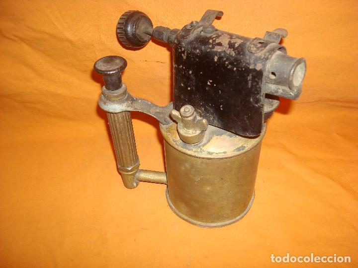 LAMPARA SOLDAR SERROT (Antigüedades - Técnicas - Herramientas Antiguas - Otras profesiones)
