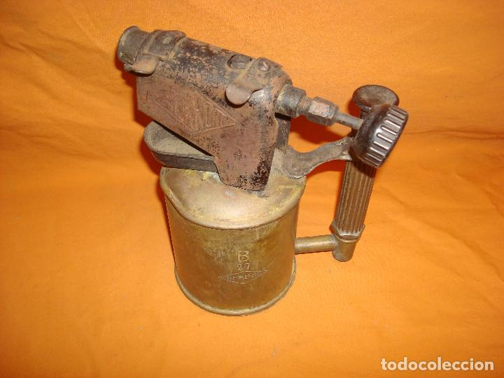 Antigüedades: Lampara soldar Serrot - Foto 2 - 195363680