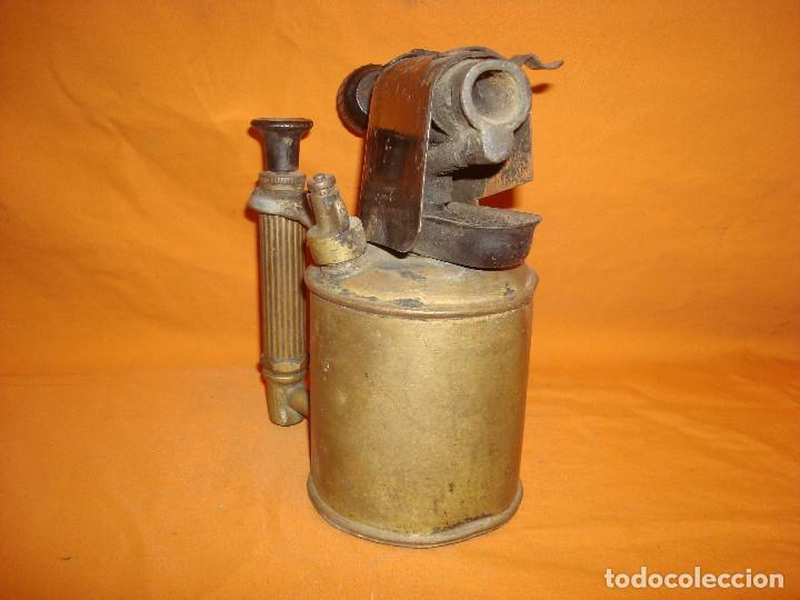 Antigüedades: Lampara soldar Serrot - Foto 3 - 195363680